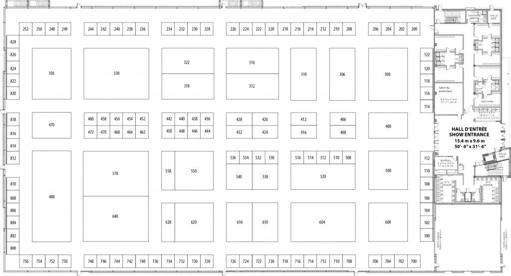 CWE 2018 - floorplan - with numbers